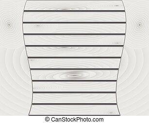 White wood texture background. Vect