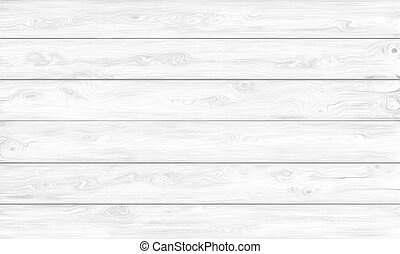 White Wooden Background - Rough and Weathered Wooden Vintage...
