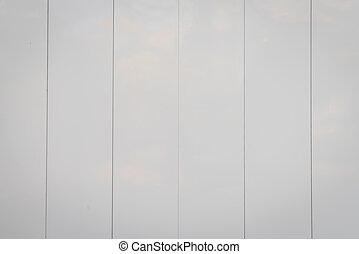 White Wooden Door .