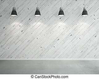 laminate wall and lamps - white wooden laminate wall and...