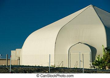 White worship tent