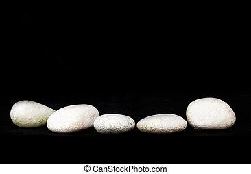 White Zen Stone