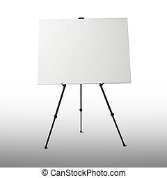 whiteboard, イーゼル