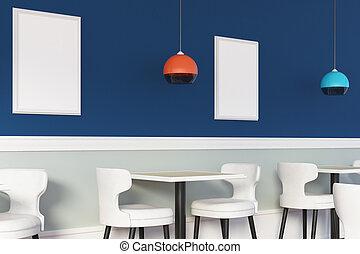 whiteboard, café, créatif