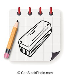 whiteboard eraser doodle
