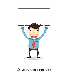 whiteboard, homme affaires