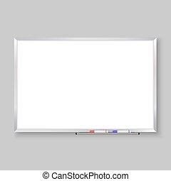 whiteboard, leerer