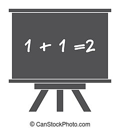 whiteboard, silueta, vector