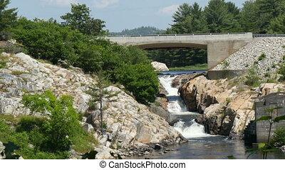 whitefish waterfall ,canada ontario