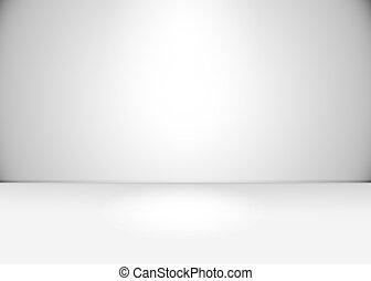 white/grey, 部屋, 空