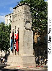 whitehall, monumento conmemorativo, cenotafio, guerra