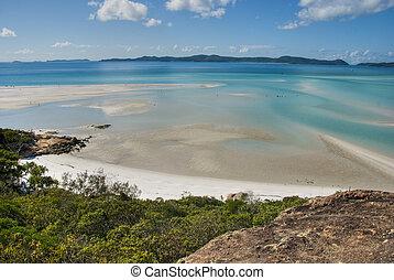 Whitehaven Beach Bay, Queensland, Australia, August 2009