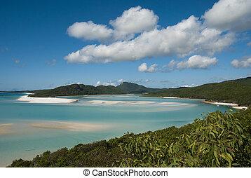Whitehaven Beach, Queensland, Australia, August 2009