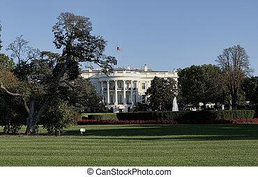whitehouse, 中に, ワシントン, dc.