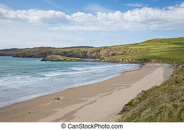 whitesands, bahía, pembrokeshire, gales