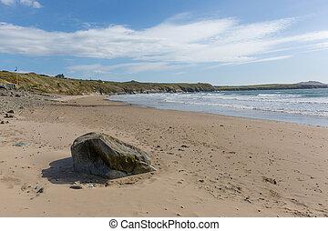 Whitesands Bay beach Wales