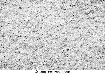 Grundge uneven background of whitewashed stone wall Bergen, Norway