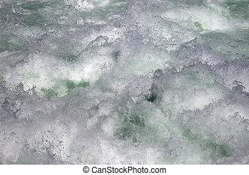Whitewater fragment (Rheinfall waterfall, Switzerland)