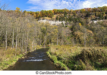 Whitewater State Park River and Bluffs