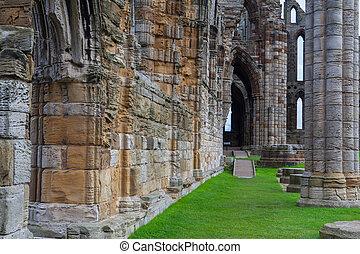 whithby, 台なし, 修道院