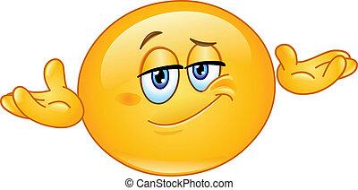 Who cares emoticon
