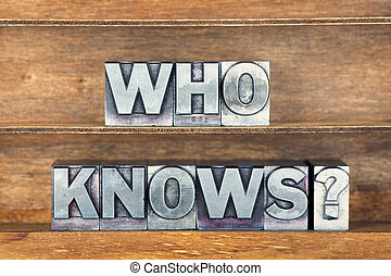 who knows tray - who knows question made from metallic...