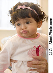 who needs botox with lips like these - Baby pouting