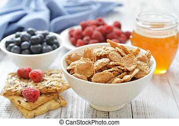 whole-grain, flakes