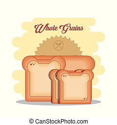 whole grains healthy product