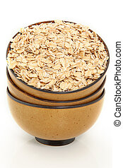 Whole Oats in Bowl