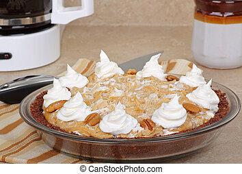 Whole Peanut Butter Pie
