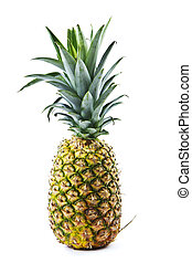 Whole Pineapple - Whole Fresh Pineapple on white background
