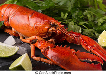 whole red lobster