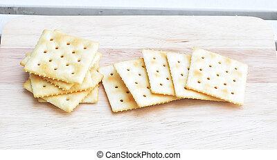 Whole Wheat Soda Crackers