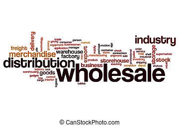 Wholesale word cloud concept