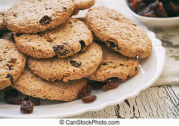 Pile Rusks With Wholewheat Flour Bread Sliced Isolated