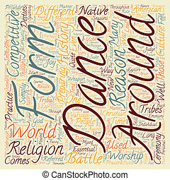 Why Dance 1 text background wordcloud concept