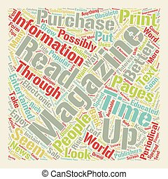 Why Do We Read Magazines text background wordcloud concept