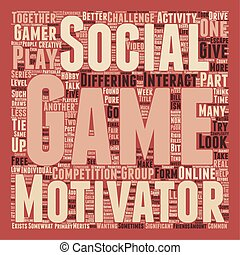 Why We Play Games Part 3 text background wordcloud concept