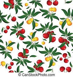 wiśnia, czerwony