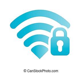wi-fi connection design - wi-fi connection design, vector...