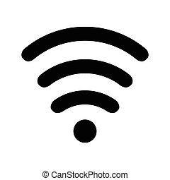Wi-Fi Icon black