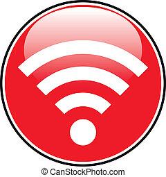 Wi-Fi icon button