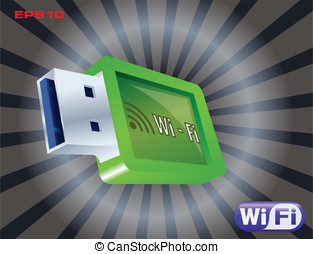 wi-fi icon set
