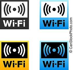 Wi-Fi internet sign
