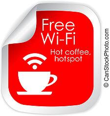 wi-fi, szabad