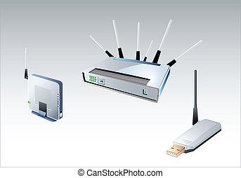 wi-fi, vorrichtungen & hilfsmittel