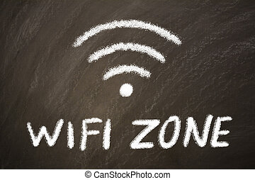 wi-fi, zona