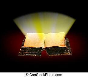 wiadomość, od, bóg