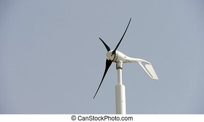wiatr turbina, i, nowy, moc, energy.
